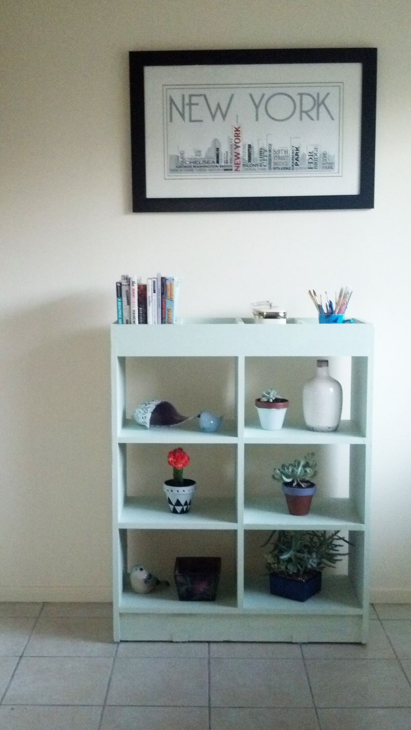 Shelf and frame
